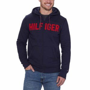 Tommy Hilfiger Men's Navy Full Zip Hoodie